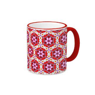 Colorful Retro Abstract Art Pattern Mug - Groovy!