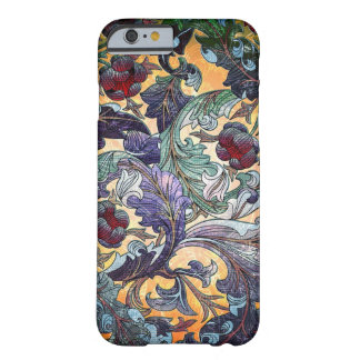 Colorful Retro Abstract Floral Collage Barely There iPhone 6 Case