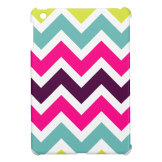 Colorful Retro Colors Chevron iPad Mini Case