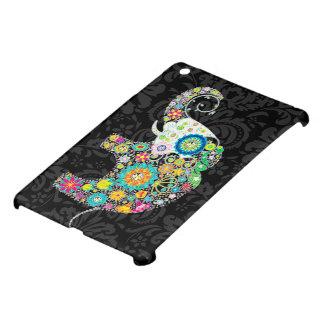 Colorful Retro Floral Elephant iPad Mini Covers