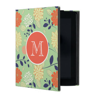 Colorful Retro Flower Case For iPad
