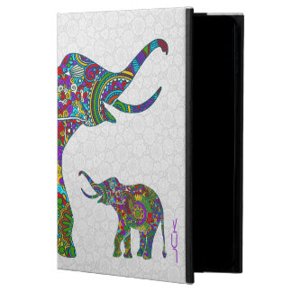 Colorful Retro Flower Elephant 3c Powis iPad Air 2 Case