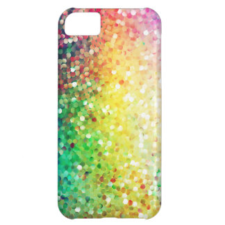 Colorful Retro Glitter And SparklesColorful Pastel iPhone 5C Cases