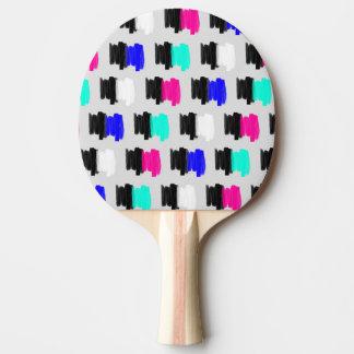 Colorful Retro Painted Brush Stroke Polka Dots