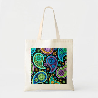 Colorful Retro Paisley Pattern2.0 Tote Bag