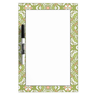 Colorful retro pattern background 2 dry erase boards