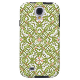 Colorful retro pattern background 2 galaxy s4 case
