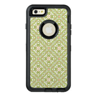 Colorful retro pattern background 2 OtterBox defender iPhone case