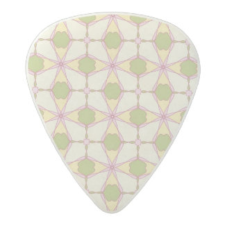 Colorful retro pattern background 3 acetal guitar pick