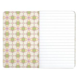 Colorful retro pattern background 3 journal