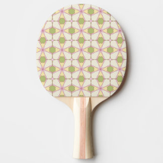 Colorful retro pattern background 3 ping pong paddle