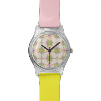 Colorful retro pattern background 3 watch