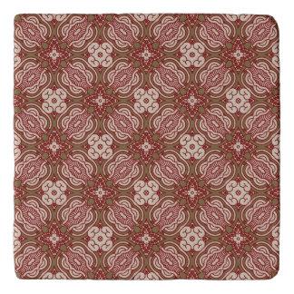 Colorful retro pattern background 4 trivet