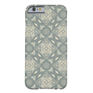 Colorful retro pattern background 5 barely there iPhone 6 case
