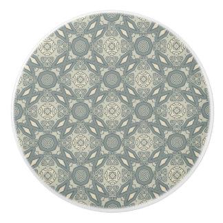Colorful retro pattern background 5 ceramic knob