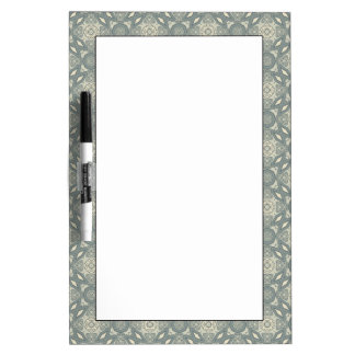 Colorful retro pattern background 5 dry erase board