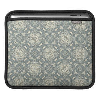 Colorful retro pattern background 5 iPad sleeve