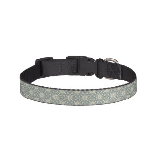Colorful retro pattern background 5 pet collar