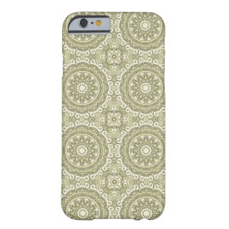 Colorful retro pattern background 6 barely there iPhone 6 case