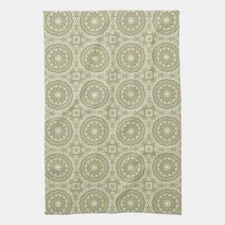 Colorful retro pattern background 6 towels