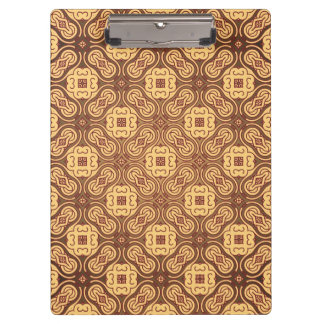Colorful retro pattern background clipboard