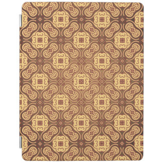 Colorful retro pattern background iPad cover