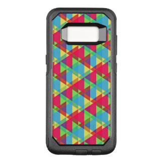 Colorful Retro Pattern OtterBox Commuter Samsung Galaxy S8 Case