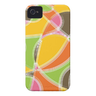 Colorful Retro Summer Pattern iPhone 4 CaseMate Case-Mate iPhone 4 Cases
