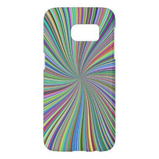 Colorful Ribbon Swirl Spiral Optical Art
