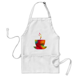 Colorful Rich Coffee Apron