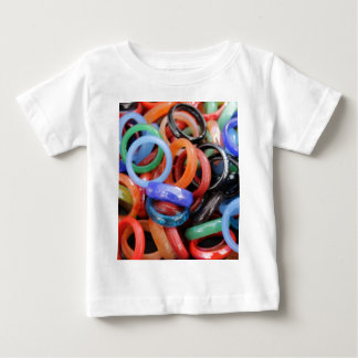 colorful rings as background baby T-Shirt
