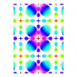 Colorful Ripples Big Transparent Announcement