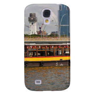 Colorful river cruise boat in Singapore Samsung Galaxy S4 Case