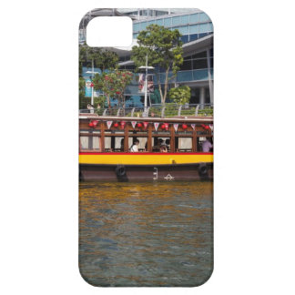 Colorful river cruise boat in Singapore iPhone 5 Case