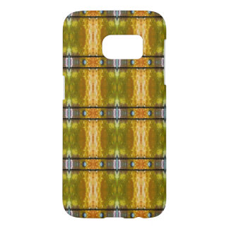 Colorful Riveted Bars Pattern Abstract