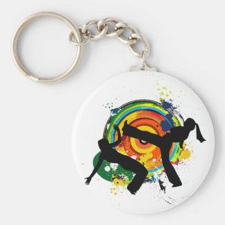 Colorful roda keychain