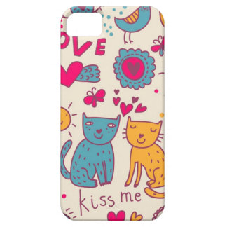 Colorful romantic pattern iPhone 5 cases