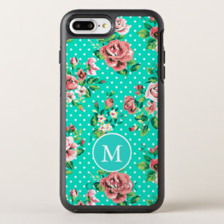 Colorful Roses And White Dots OtterBox Symmetry iPhone 8 Plus/7 Plus Case