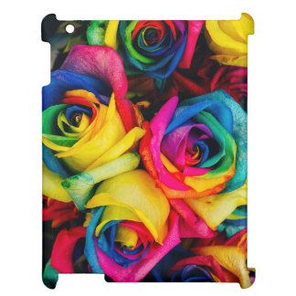Colorful roses cover for the iPad