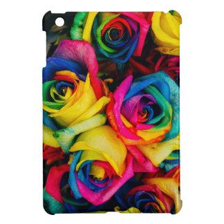 Colorful roses iPad mini covers