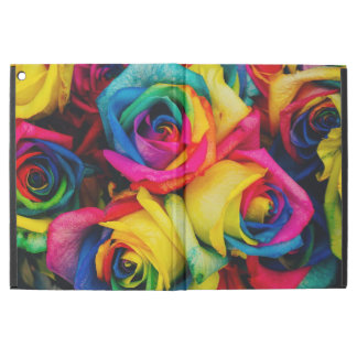 "Colorful roses iPad pro 12.9"" case"