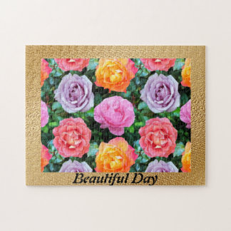 Colorful Roses Jigsaw Puzzle
