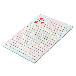 Colorful rough cool texture notepad