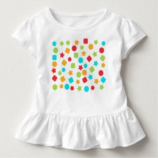 Colorful ruffle T shirt