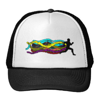 Colorful Running Hats
