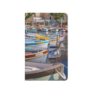 Colorful sailboats journal