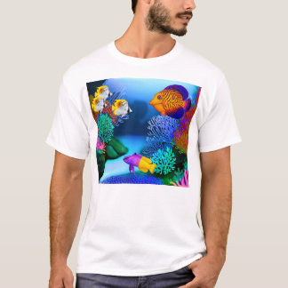 Colorful Saltwater Reef Aquarium Fish T-Shirt