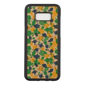 Colorful Samsung Galaxy S8+ Slim Cherry Wood Case