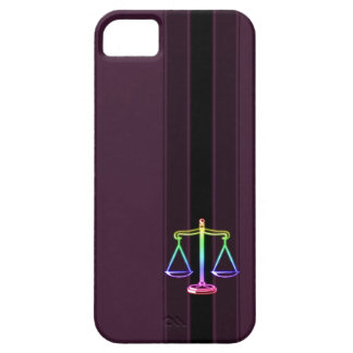 Colorful Scales of Justice | Law iPhone 5 Cover