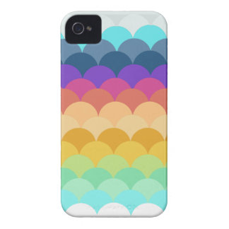 Colorful Scalloped IPhone 4 Case